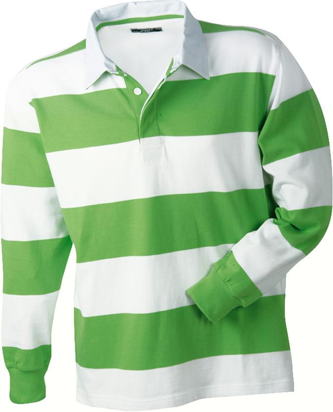 James   Nicholson Polo Rugby Shirt Striped Streifen Querstreifen ... 52545af807