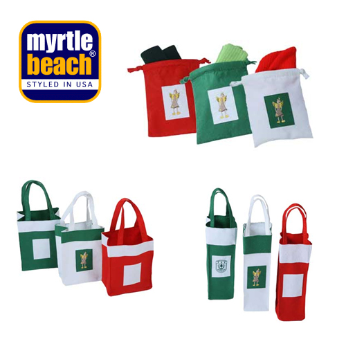 tasche weihnachten geschenk flasche myrtle beach neu ebay. Black Bedroom Furniture Sets. Home Design Ideas