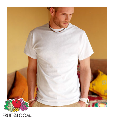 10 Stück FRUIT OF THE LOOM T Shirt Shirt weiß S   XXXL